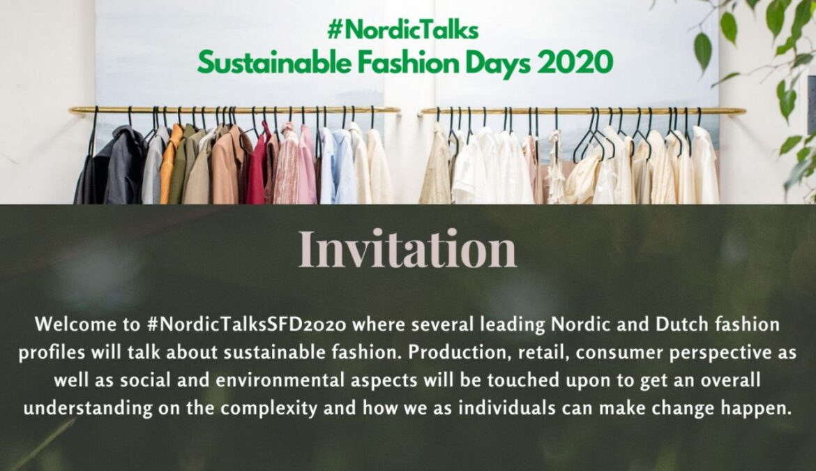 NordicTalks Sustainable Fashion Days 2020